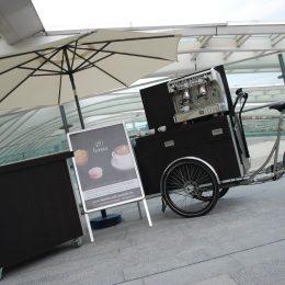 Projet d'une machine à café sur un tricycle