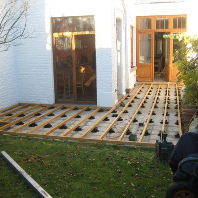 Terrasse en IPE lisse